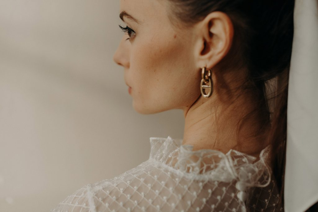 Camille Marguet collection civile 2021 - Andromède + Thésée / Boucles d'oreilles Ode